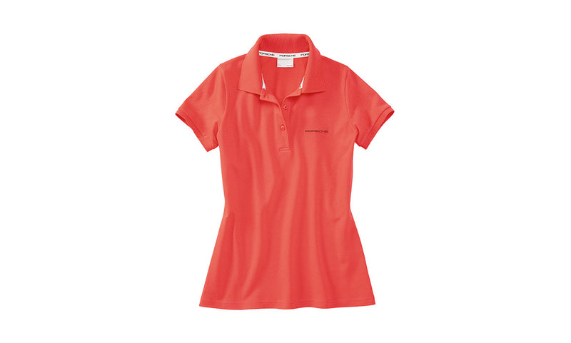 Porsche Driver's Selection Women's Classic Polo - Canyon Clay Color