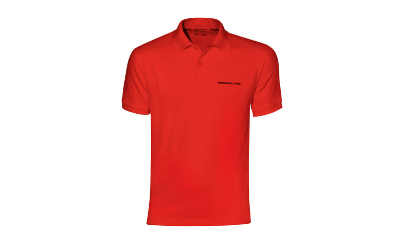Porsche Driver's Selection Men's Classic Polo - Red
