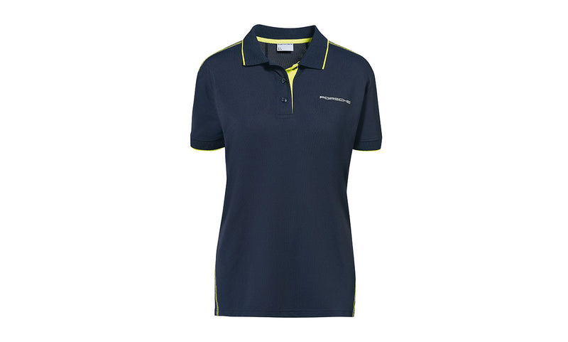 Porsche Driver's Selection Women's Polo Shirt, dark blue - Sport Collection
