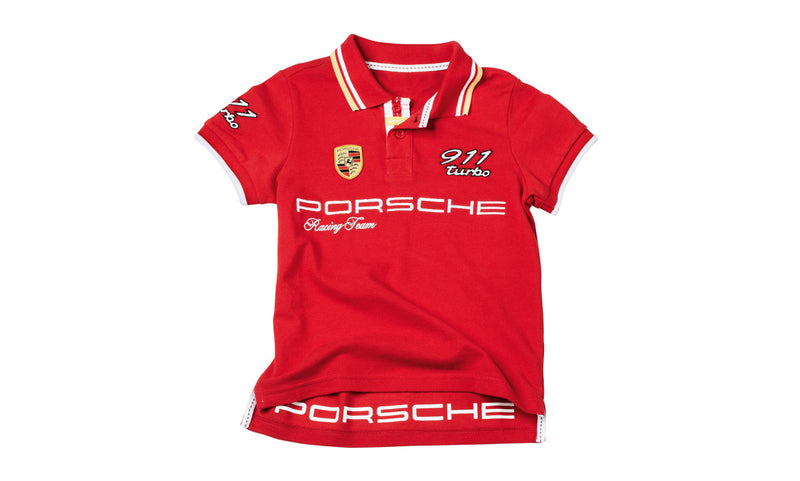 Porsche Driver's Selection Children's 911 Turbo Polo Shirt, Kids