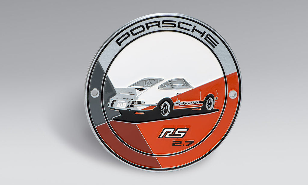 Porsche Driver's Selection Grille Badge - RS 2.7 Collection