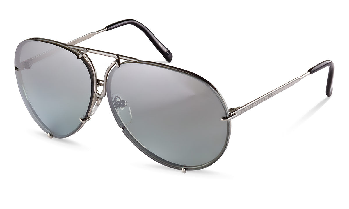 4ed369316a6 PORSCHE DESIGN Men s Aviator Sunglasses P 8478 with Interchangeable Lenses