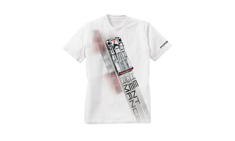Porsche Driver's Selection Men's T-shirt - Racing Collection, Return to Le mans