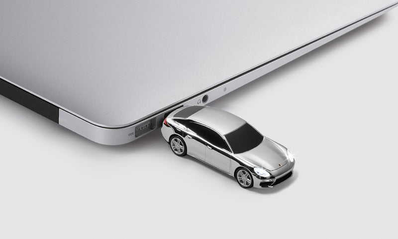 Porsche Driver's Selection Panamera shaped USB Flash Drive