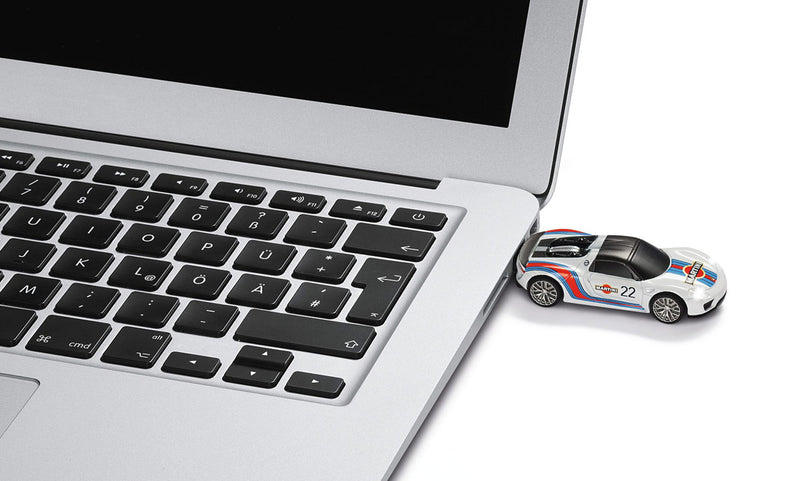 Porsche Driver's Selection USB Flash Drive 918 Spyder