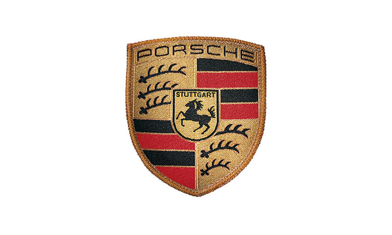 Porshce Driver's Selection Sew-on Crest Badge