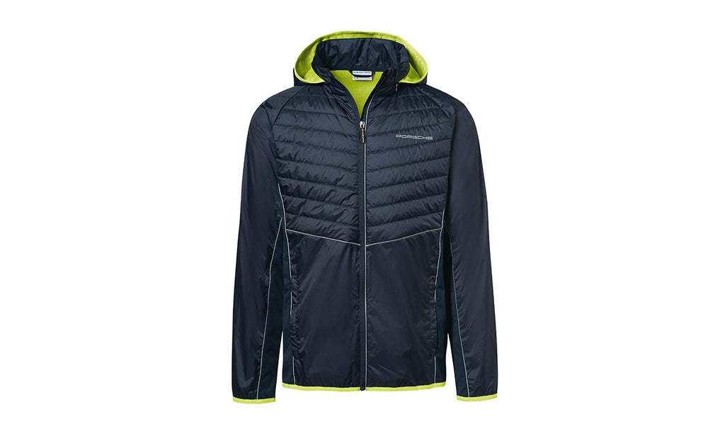 Porsche Driver's Selection Men's Mix Windbreaker  Jacket, dark blue - Sport Collection