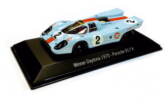 Porsche 917 K Gulf Livery 1:43 Model Car - 1971 Daytona Winner