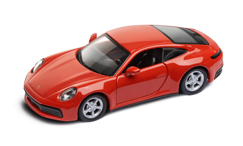 Porsche Driver's Selection 911 Carrera 4S Pullback 1:43- Lava Orange