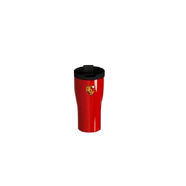 Porsche Driver's Selection Cup/Mug with Crest - Guards Red