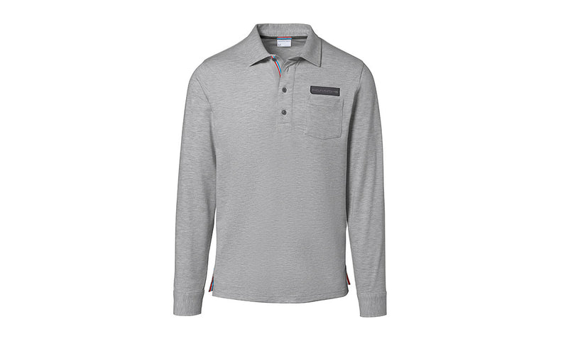 Porsche Driver's Selection Men's Long-sleeve Rugby Polo Shirt - Classic Collection