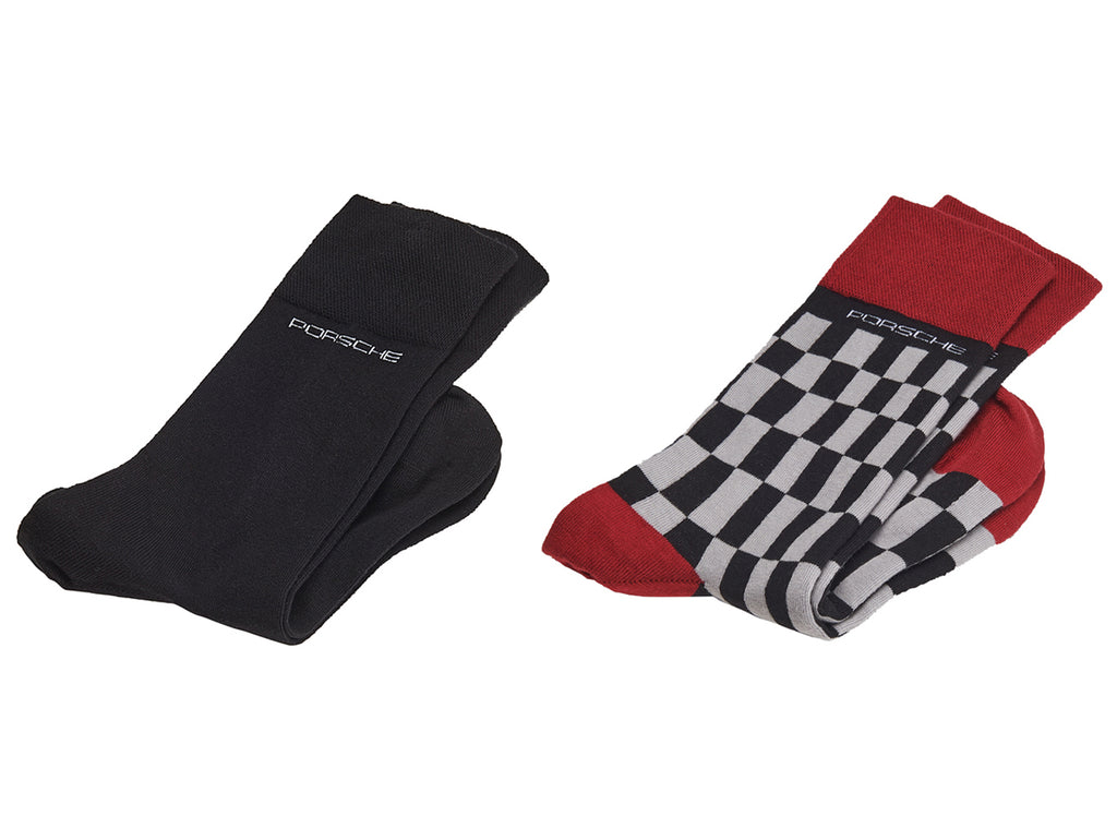 Porsche Driver's Selection 944 Socks 2-pack, Unisex - #PORSCHE Collection