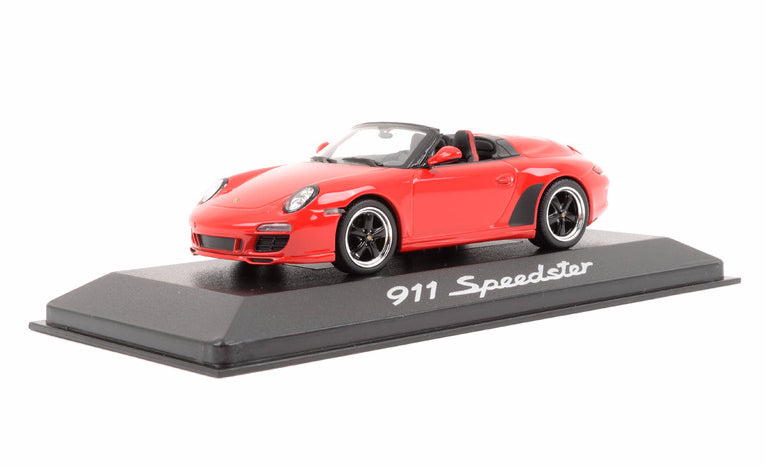 Porsche 911 (997) Speedster 1:43 Model Car - Red, Porsche Museum