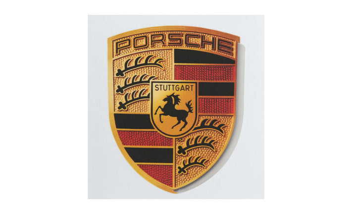 Porsche Driver's Selection Crest Sticker