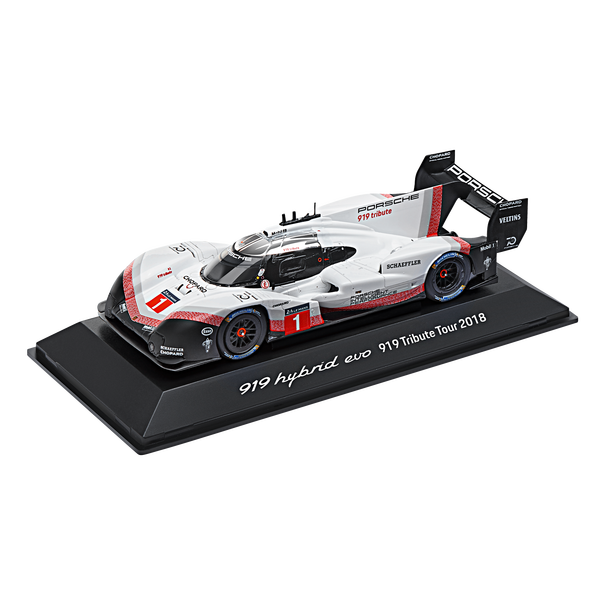 Porsche Driver's Selection 919 Hybrid Evo Tribute Tour 2018 Model Car