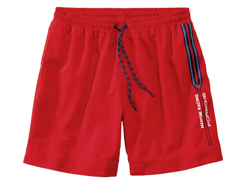 Porsche Driver's Selection Board / Swim Shorts - Martini Racing Collection