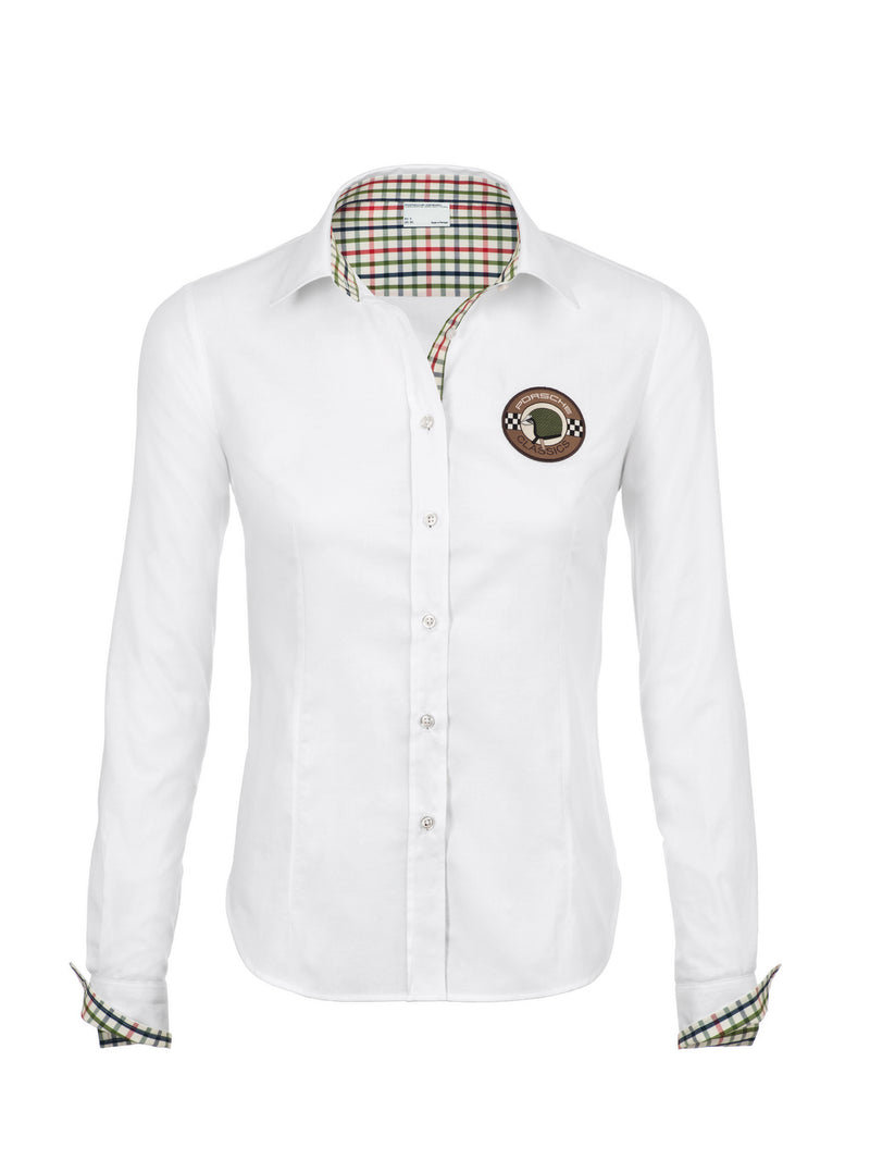 Porsche Driver's Selection Women's Retro Blouse - Classic Collection