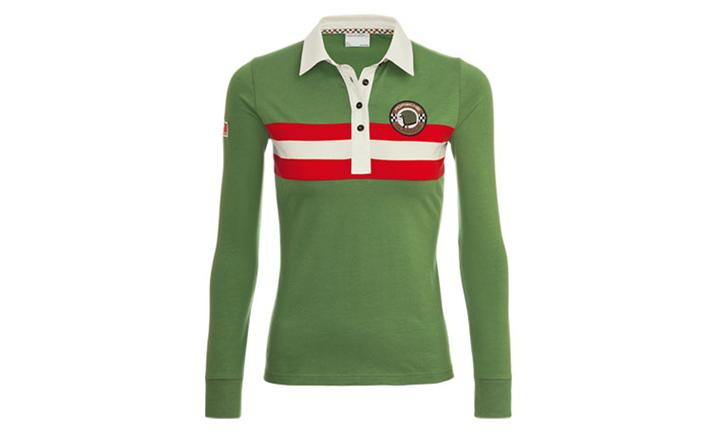 Porsche Driver's Selection Women's Retro Rugby Shirt - Classic Collection