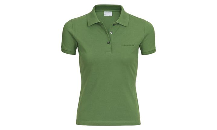 Porsche Driver's Selection Women's Green Polo Shirt - Classic Collection