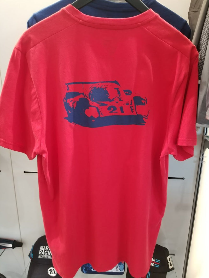 Porsche Driver's Selection Unisex Collector's T-shirt - Martini Racing (Red)