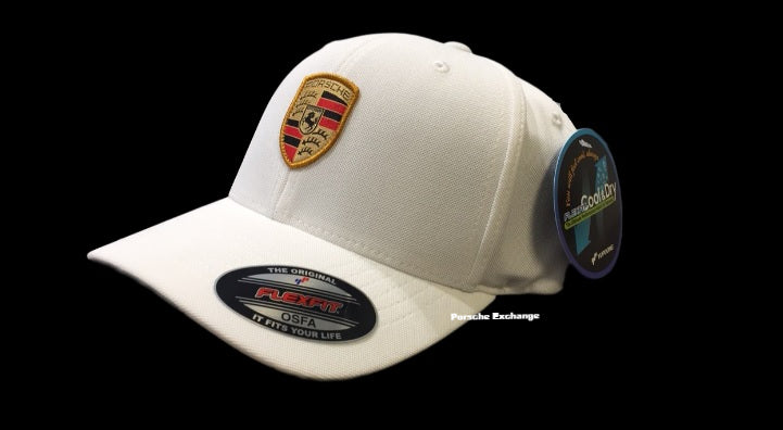 Porsche Driver's Selection Flex-Fit Crest Baseball Cap