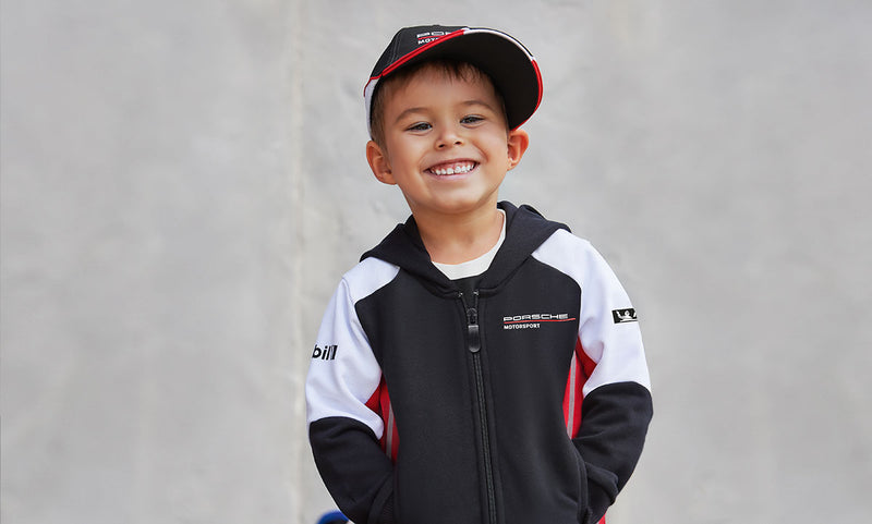 Porsche Driver's Selection Kids Sweat Jacket- Motorsport Collection