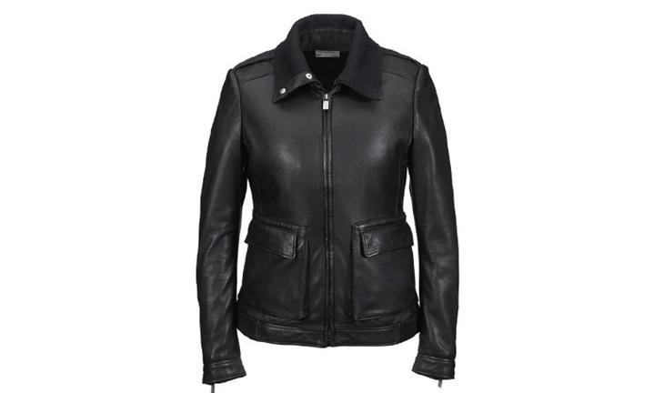 Porsche Driver's Selection Women's Lambskin Leather Jacket