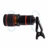 Telescope Camera Lens with Clip for Mobile Phones