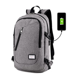 Anti-Theft Unisex Backpack