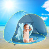 BABY BEACH TENT WITH WADDING POOL