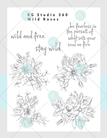 [NEW] Wild Roses - Mixed Media Subscription Kit Box [US Only]