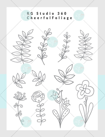 Cheerful Foliage - Exclusive Digital Download