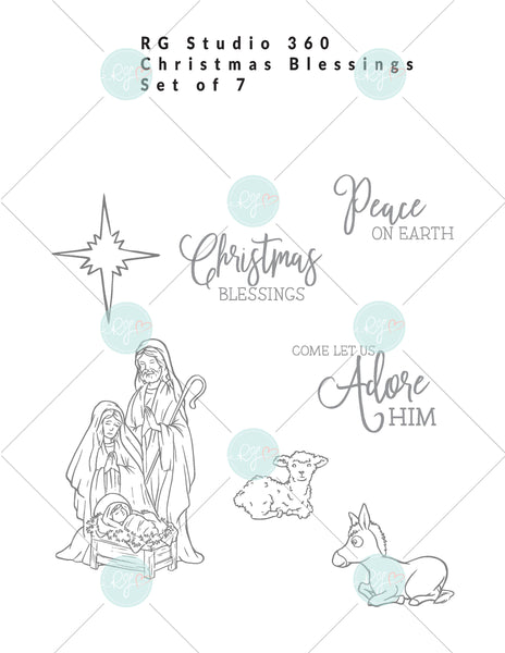 Christmas Blessings - Exclusive Digital Download