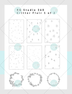 [NEW] Critter Flair - Planner Club Subscription Kit Box [US ONLY]