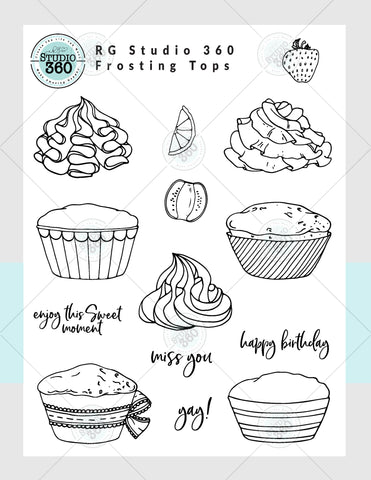 Frosting Tops - Exclusive Digital Download