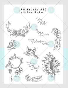 [NEW] Native Boho - Card Club Subscription Kit Box [US Only]