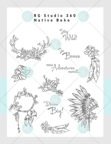 [NEW] Native Boho - Card Club Exclusive Download & Virtual Class Subscription