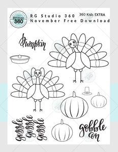 Kids 360 FREE Thanksgiving Download