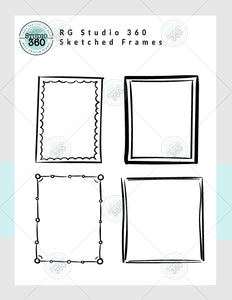 Sketched Frames - Exclusive Digital Download