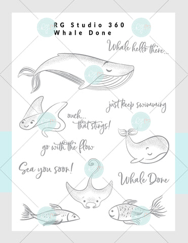 Whale Done - Exclusive Digital Download