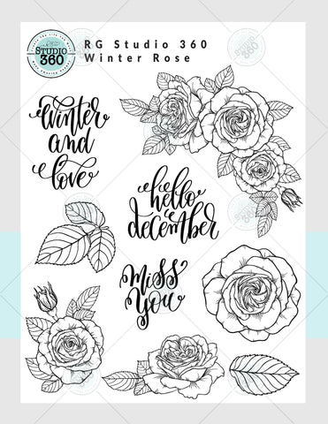 Winter Rose - Exclusive Download and Virtual Class