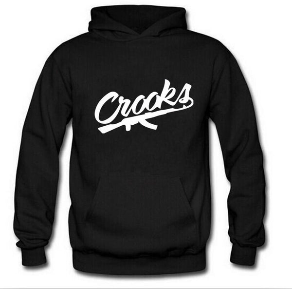 Crooks and Castles hoodies diamond Hoodie free shipping hip hop sweatshirts winter suit cotton sweats mens sweatshir - TMBWear