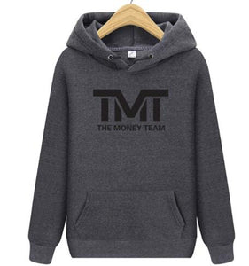TMT The Money Team Long Sleeves 2018 New Fashion Hoody Pullover Mens Hoodies Sweatshirt Printing Autumn Winter Cotto - TMBWear