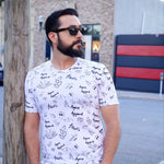 agave apparel graffiti tee men