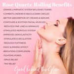 2 - IN - 1 ROSE QUARTZ FACE ROLLER