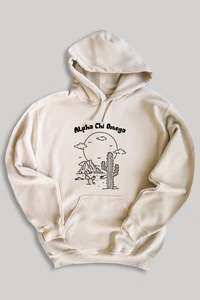 Alpha Chi Omega Desert hoodie - sand - Spikes and Seams Greek