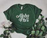 Green Est. Tee - available for all sororities!