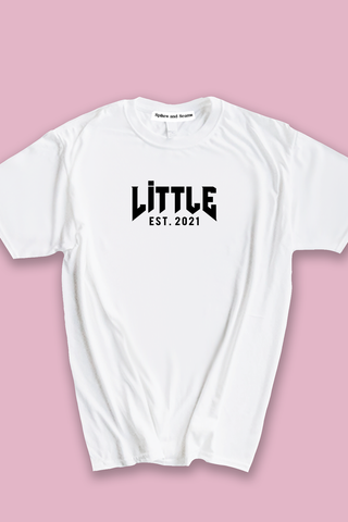 White Rocker family tee - Spikes and Seams Greek