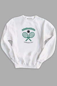 Athletics Sweatshirt - White - Spikes and Seams Greek