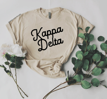 Sand Script Tee - available for all sororities!